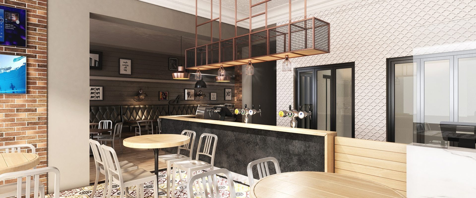 Hot concepts hotel club renovations interior design for Hotel club decor